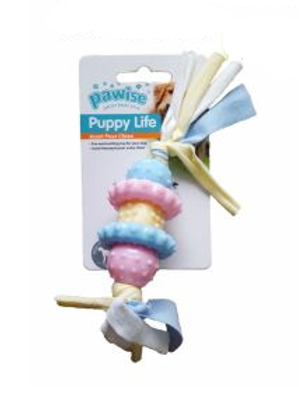 Pawise Puppy Life Teething Toy with Rope