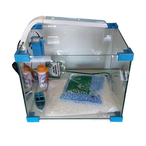 Akwaria Starter Kit 34l - Blue