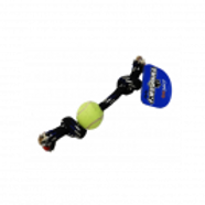 Tuggers Rope Bone with Tennis Ball - Small