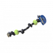 Tuggers Rope Bone with Tennis Ball - Large