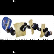 Tuggers Rope Bone 3 - Rawhide Chip