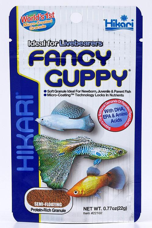 Hikari Tropical Fancy Guppy - 22g