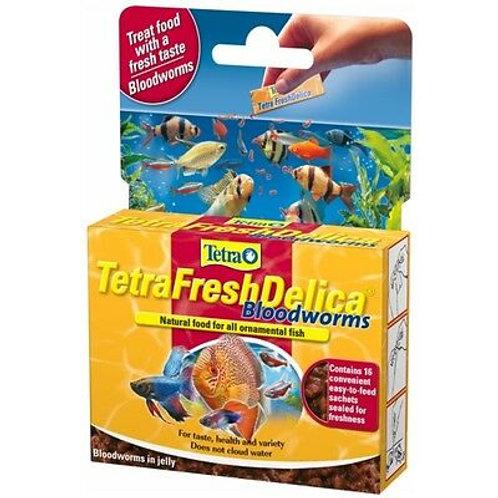 Tetra FreshDelica Bloodworm - 16x3g
