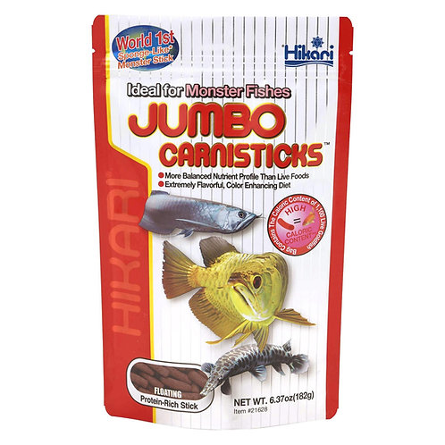 Hikari Jumbo Carnisticks - 182g