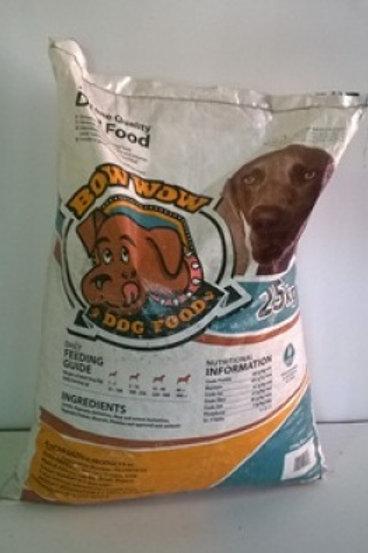 Bow Wow Dog Food - 25kg