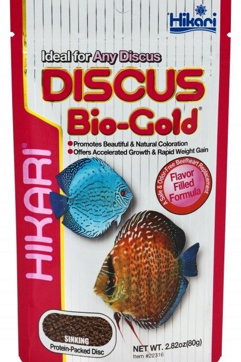 Hikari Tropical Discus Bio Gold - 80g