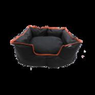 Wagit Luxury Square Bed Red Trim - Medium