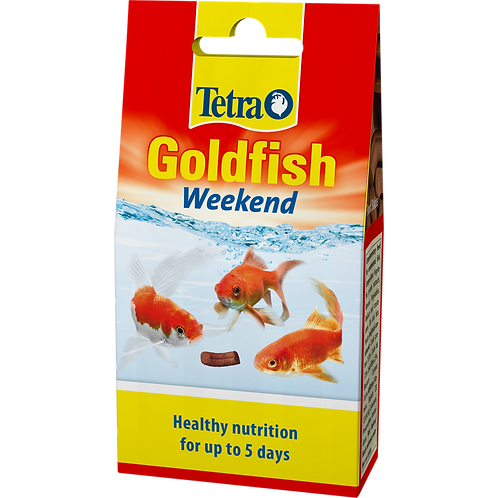 Tetra Goldfish Weekend Sticks (10) - 9g