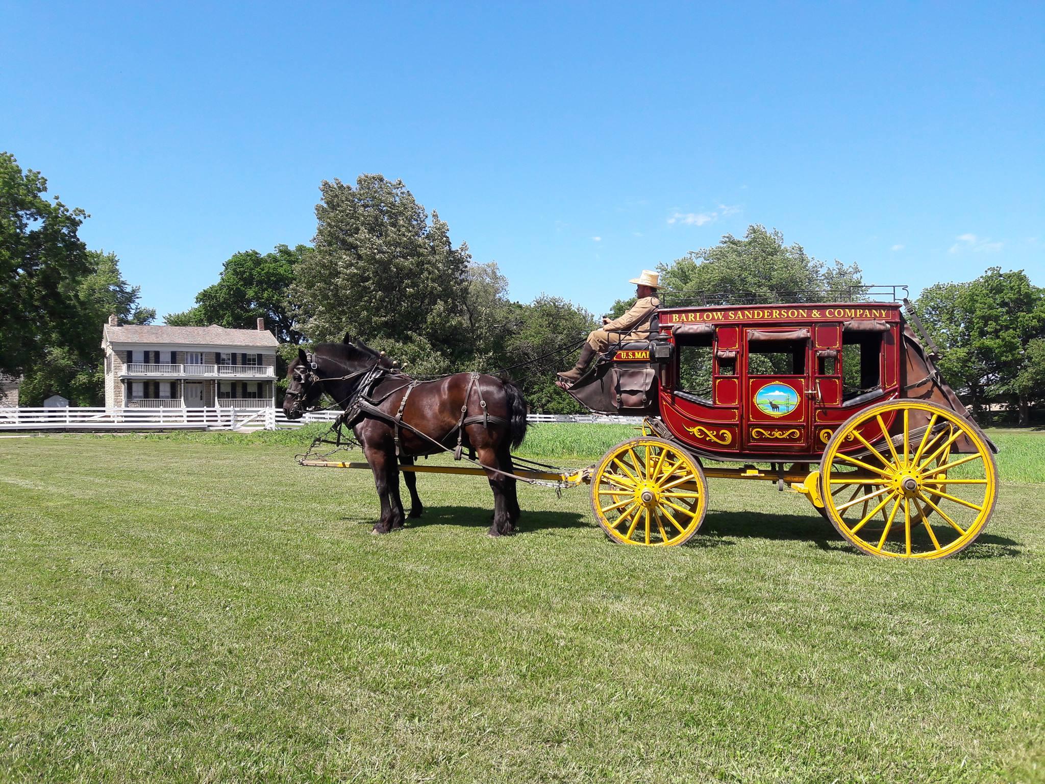 Mahaffie Stagecoach