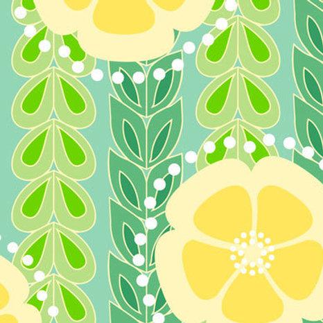 Kanzashi Willow - spring green