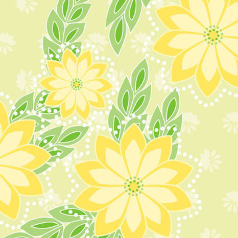 Kanzashi Breeze - chartreuse