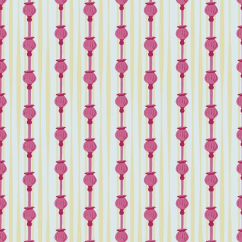 Poppies - garnet