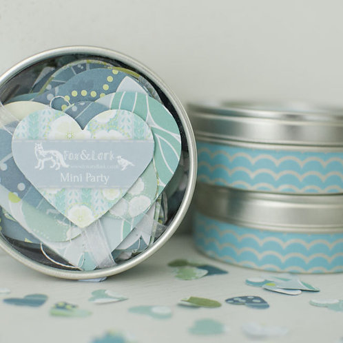 WS: Maiko Blossom mini party tin - blue