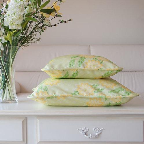WS: Kanzashi Breeze - chartreuse - cushions
