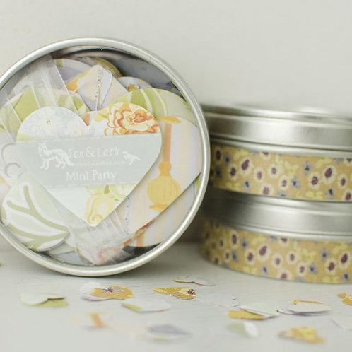 Folly - lavender & apricot - garland & confetti