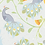 Thumbnail: Peacocks - grey & yellow