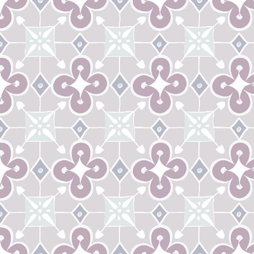 Quatrefoil - lavender