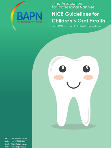 NICE Guidelines for Children's Oral Health