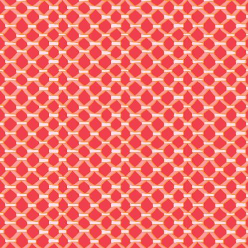 Leaded Window - red