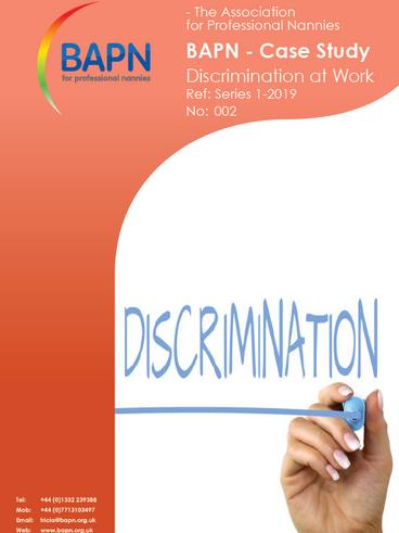 Case Study - Discrimination