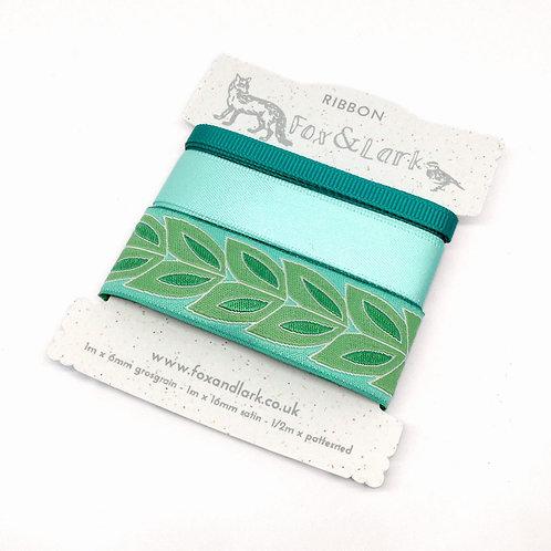Willow Ribbon - green