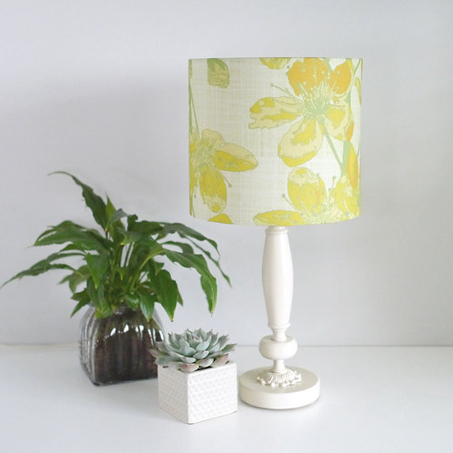 WS: Cherry Sprigs - yellow - lampshades