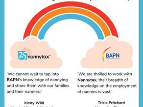 Nannytax and BAPN launch Partnership