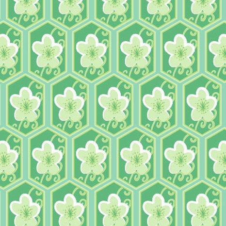Honeycomb Cherry - emerald