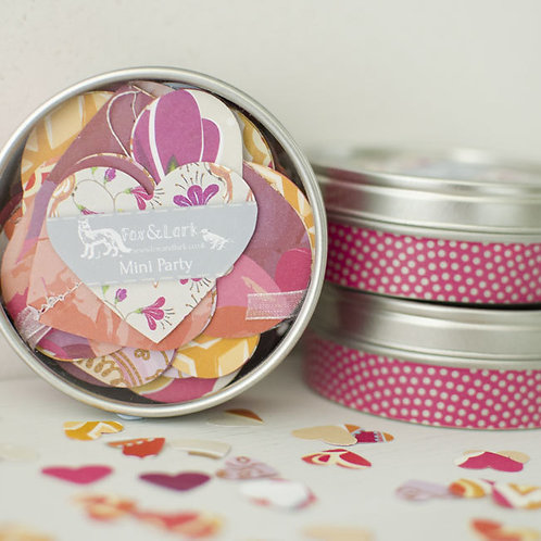 WS: Maharani mini party tin - pinks