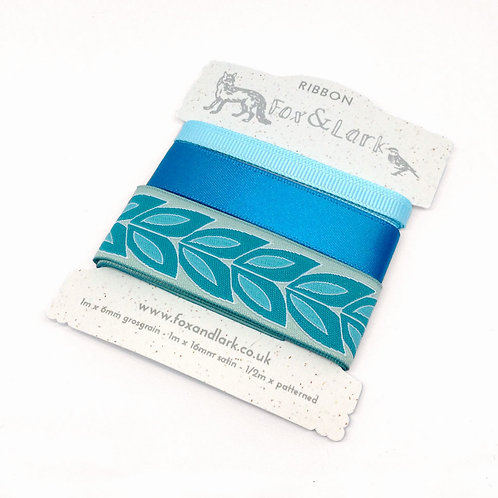 Willow Ribbon - blue