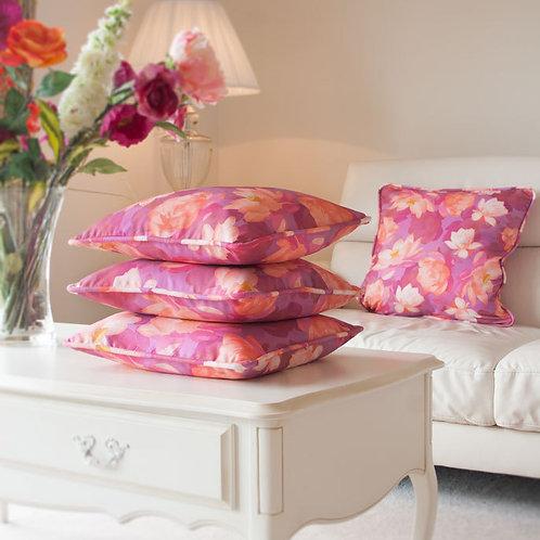 WS: Lotus Blooms - parma violet - cushions