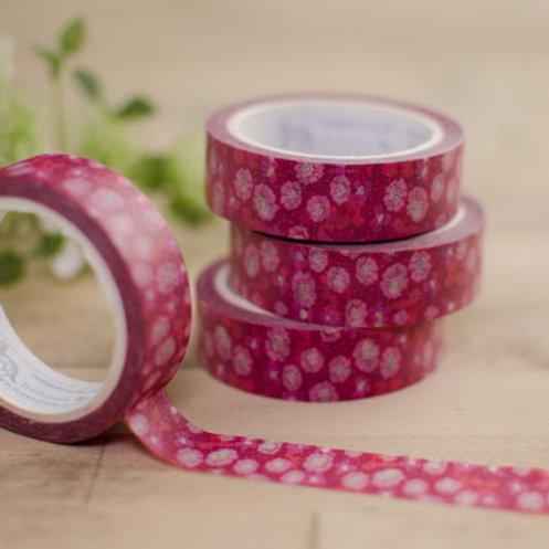 WS: Folly Washi - Garden Ditsy - reds