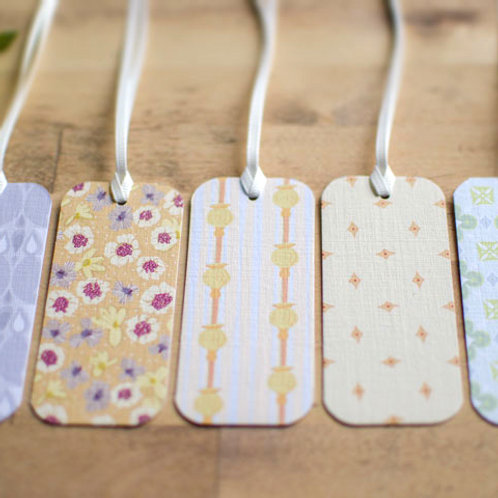 WS:Folly gift tags - yellow, soft green & lavender