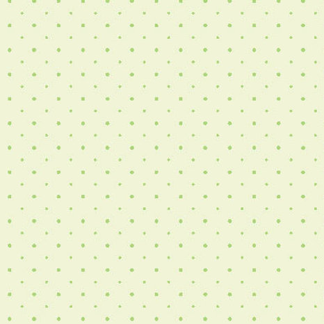 Tiny Dots - soft green