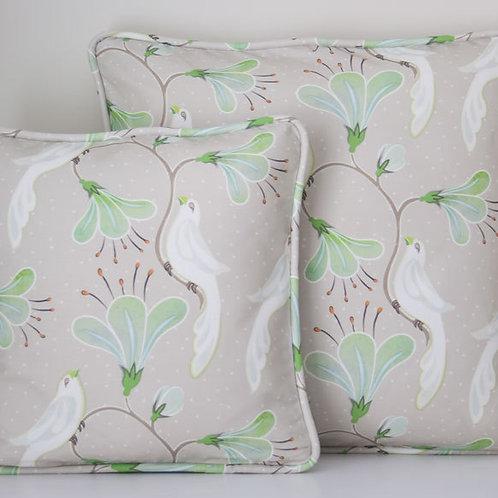 Maharani's Garden - mink - cushion