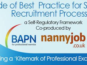 A Code of Best Practice for Safer Online Recruitment Processes – a Self-Regulatory Framework