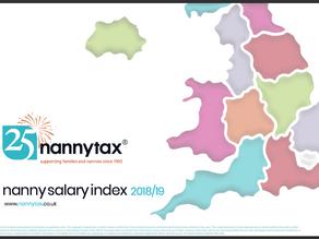 Nanny Salary Index 2018/19
