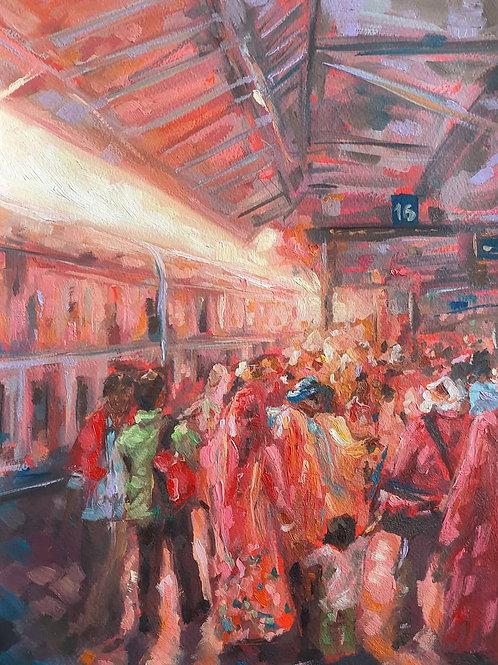 The Train to Delhi