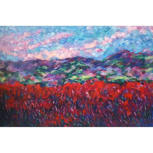 Raspberry Fields Print