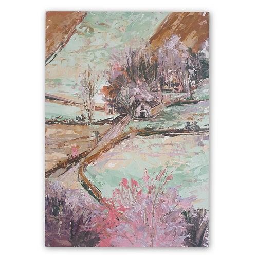 French Countryside Print