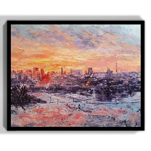 Sunrise at Primrose Hill