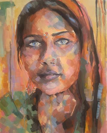 Rajhastani Woman