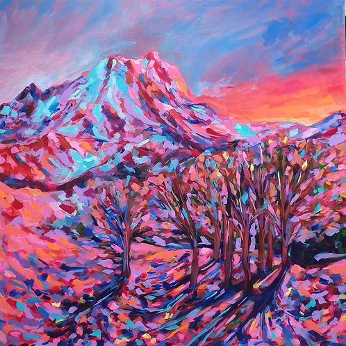 Mountains Fragmented