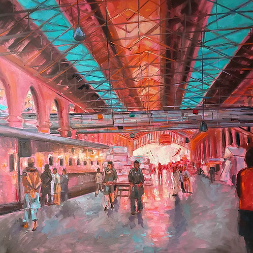 Lahore Train Station