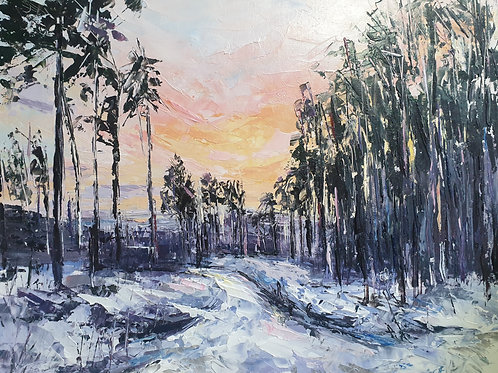 Winter Walk Print