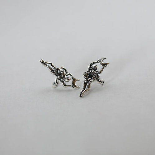 Moon Angel Ear Cuff