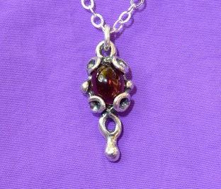 Greek Pendant Necklace