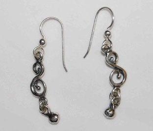 Small Victorian Earrings