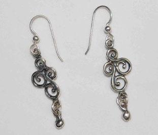 Medium Victorian Earrings