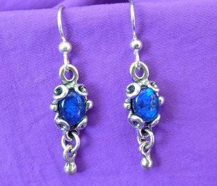 Greek Link Earrings